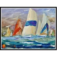 Морской пейзаж, пейзаж море, ART# MOP17_054