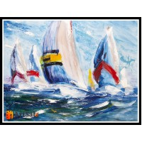 Морской пейзаж, пейзаж море, ART# MOP17_060