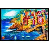 Морской пейзаж, пейзаж море, ART# MOP17_061