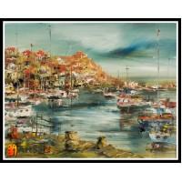 Морской пейзаж, пейзаж море, ART# MOP17_062