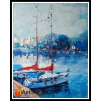 Морской пейзаж, пейзаж море, ART# MOP17_064