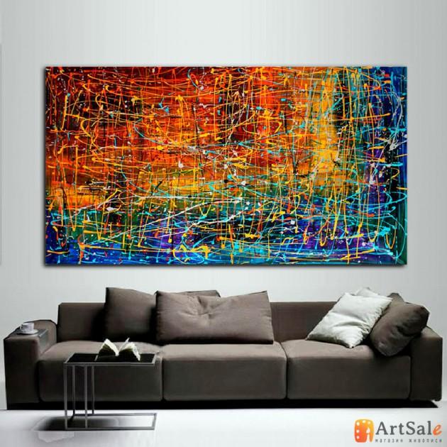 Картина абстракция, ART: AS1057