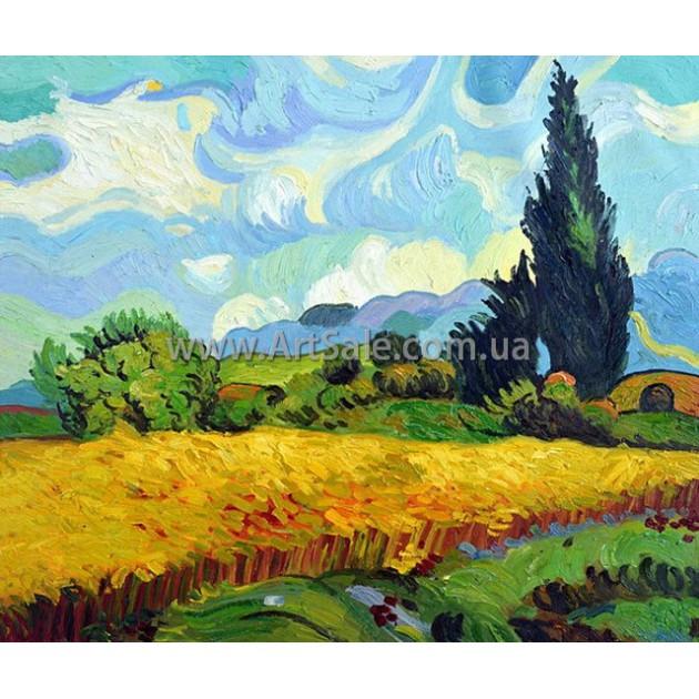 Купить картину Ван Гога Пейзаж