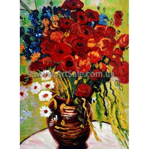"""Купить картину Ван Гога """"Букет полевых цветов"""""""