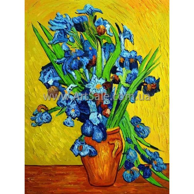 """Купить картину Ван Гога """"Ирисы"""""""