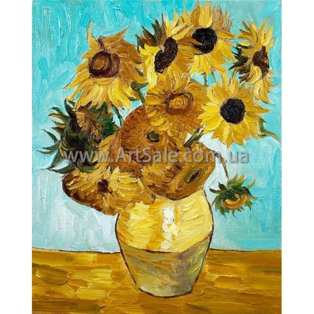 Купить картину Ван Гога Подсолнухи 3