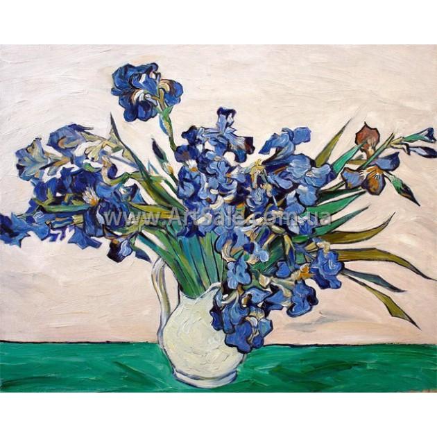 Купить картину Ван Гога Ирисы 2