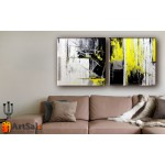 Модульные Картины, рисованные маслом, Art. MKR17_2_005