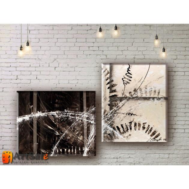 Модульные Картины, рисованные маслом, Art. MKR17_2_017