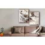 Модульные Картины, рисованные маслом, Art. MKR17_2_029
