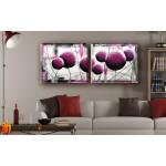 Модульные Картины, рисованные маслом, Art. MKR17_2_039