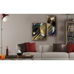 Модульные Картины, рисованные маслом, Art. MKR17_2_043