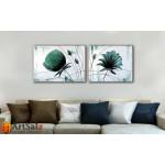 Модульные Картины, рисованные маслом, Art. MKR17_2_077
