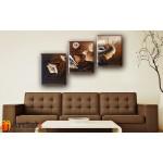 Модульные Картины, рисованные маслом, Art. MKR17_3_005