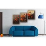Модульные Картины, рисованные маслом, Art. MKR17_3_009