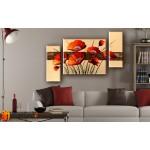 Модульные Картины, рисованные маслом, Art. MKR17_3_023