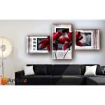 Модульные Картины, рисованные маслом, Art. MKR17_3_029