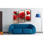 Модульные Картины, рисованные маслом, Art. MKR17_3_053