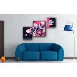 Модульные Картины, рисованные маслом, Art. MKR17_3_065